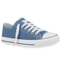 DAMEN SCHUHE 105146 SNEAKERS BLAU 40 - http://on-line-kaufen.de/stiefelparadies/40-eu-stiefelparadies-damen-schuhe-sneakers-low-30