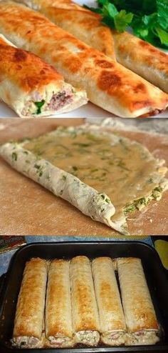 A delicious dish of thin pita bread! Most Delicious Recipe, Russian Recipes, Tasty Dishes, Clean Eating Snacks, Food Photo, Soul Food, Cooker Recipes, Appetizer Recipes, Yummy Food