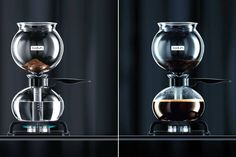Bodum has refreshed the classic vacuum coffee maker into a stove top stunner. Check out the Bodum PEBO Vacuum Coffee Maker. Coffee Machine, Espresso Machine, Vacuum Coffee Maker, Blue Bottle Coffee, Coffee Icon, Best Espresso, Best Coffee, Coffee Cups, Drink Coffee