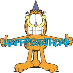 June 1978 We were blessed with the creation and first published Garfield comic! Happy Birthday t Birthday Celebration Quotes, Happy Birthday Quotes, Happy Birthday Images, Birthday Messages, Happy Birthday Cards, Birthday Greetings, Birthday Posts, Garfield Comics, Garfield Cartoon