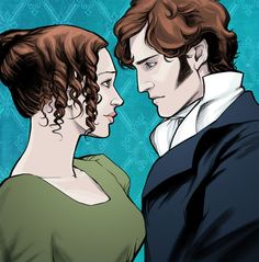 Pride and prejudice elizabeth bennet and mr fitzwilliam darcy fantastic art for marrying mr darcy the pride and prejudice card game fandeluxe Image collections
