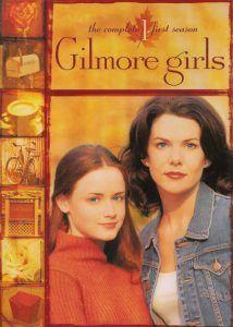 Gilmore Girls avec Lauren Graham et Alexis Bledel - affiche saison 1