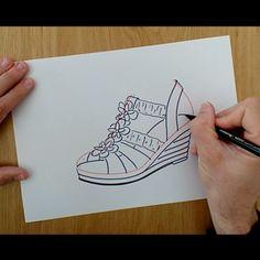Para diseñar no es necesario utilizar un software potente, también lo puedes hacer con papel y rotulador 📝  Aprovecha además el 💥BLACK FRIDAY💥 durante toda la semana hasta el 1 de Diciembre. Todos los cursos online al 50% de descuento. 👠  Aprende a diseñar tu propio calzado con ayuda de un tutor especializado. 👩🏫  Este video-tutorial lo puedes ver COMPLETO en nuestro Canal de Youtube 📺  ¿Qué diseños de calzado te gustan más? 📝  En la imagen el enlace de Youtube ↖️