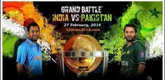Listen India vs Pakistan Live Commentary Ball by Ball, India vs Pakistan T20 commentary, India vs Pakistan radio commentary, Ind vs Pak Star Sports live commentary - 27 Feb 2016