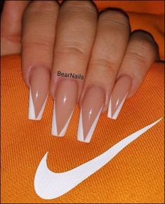 138 creative and newest acrylic nails designs for this year page 41 # Skincare . - 138 creative and newest acrylic nails designs for this year page 41 # Skincare - # # designs # Best Acrylic Nails, Acrylic Nail Designs, French Tip Acrylic Nails, White Tip Nails, Square Acrylic Nails, Nagel Tattoo, Beauty Nail, Beauty Makeup, Nail Design Spring