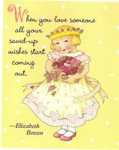When Love Someone Saved Up Start Wishes Coming True Magnet Mary Engelbreit Art