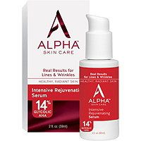 Alpha Skincare - Rejuvenating Serum 14%. This does the same thing as the cream.  This is a little harder to apply.