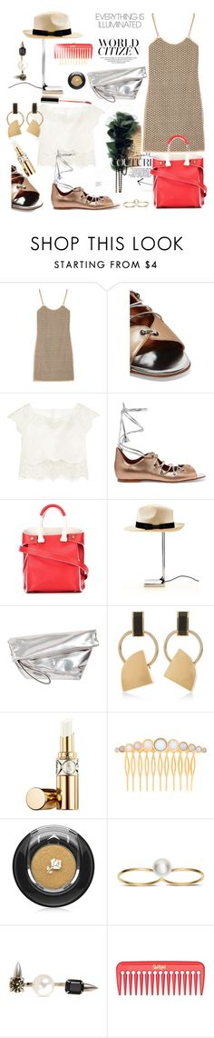 """Illumination"" by sue-mes ❤ liked on Polyvore featuring Diane Von Furstenberg, Malone Souliers, Rime Arodaky, Giancarlo Petriglia, Flos, Marni, Yves Saint Laurent, Eddie Borgo, Lancôme and Sophie Bille Brahe"