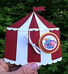 Circus Birthday invitations, 1st Birthday. Dumbo elephant www.facebook.com/fleurettedesignstudio