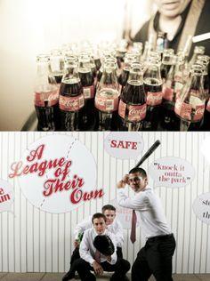 Baseball Theme Wedding by Amorology   The Wedding Story