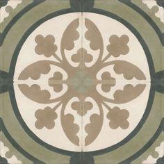 Moroccan Encaustic Cement Pattern 09d