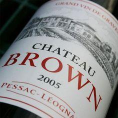 Chateau Brown, Pessac Leognan, Proprietaire : Jean Christophe MAU