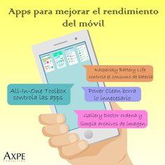 Descubre algunas #apps útiles para mejorar el rendimiento del móvil 👌  #Smartphone