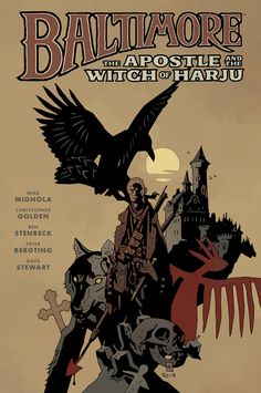 Baltimore: The Apostle & The Witch of Harju Art by Mike Mignola