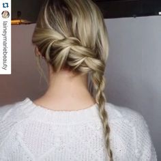 #Repost @laineymariebeauty with @repostapp. ・・・ Twisted braid into a rope braid. Simple braid for those who have a hard time braiding.   Song: Justin Timberlake- Drink you away  #hudabeauty #twistedbraid #lacebraid #hairtips #twistbraid #hairofinstagram #howtodohair #hairtutorials #hairmakeupdiary #hairtutorial #hairideas #hairvideo #wakeupandmakeup #peinandote #hairdotutorials #peinadosvideos #hair_artistry #justhairvids #hairfeed #hair_videos #hairclip  #hairvidz