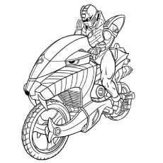 Page Power Ranger Coloring Sheets Coloring pages Power rangers