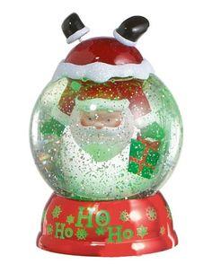 Santa Upside Down Light-Up Water Globe, Lighted Santa Waterglobe by Midwest CBK Christmas Snow Globes, Christmas Lights, Christmas Holidays, Christmas Cards, Christmas Tree, Christmas Ornaments, Santa Ho Ho Ho, Shimmer Lights, Water Globes