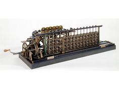 1859 Difference engine No. 3  George and Edvard Scheutz