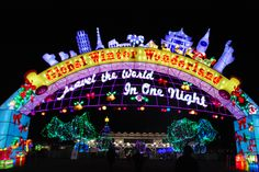 HAVE I GOT A CHRISTMAS ADVENTURE FOR YOU! Chance to win free tickets to Global Winter Wonderland -- an amazing holiday light display and festival!