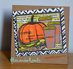 Mon coin Scrap: Fall Coffee Lovers Blog Hop!!!
