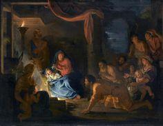 Charles Le Brun, L'Adoration des bergers, huile sur toile, 1689, Paris, musée du Louvre © RMN-GP (musée du Louvre) / Franck Raux