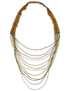 sahara layered beach necklace