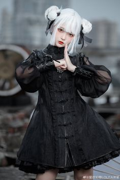Harajuku Fashion, Lolita Fashion, Steampunk Lolita, Mode Lolita, Female Pose Reference, Real Costumes, Poses References, Cool Outfits, Fashion Outfits