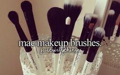 MAC makeup brushes.' - JustGirlyThings | Just Girly Things
