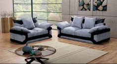 Sofas & More LTD is offering sofa sets in Dino fabric at best deals in Surrey. These sofa sets are available in 2 and 3 seats.