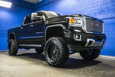 Fan of Big Lifted Trucks? Dont miss this 2015 GMC Sierra 2500 Denali 4x4 Loaded Duramax Diesel Truck For Sale At Northwest Motorsport