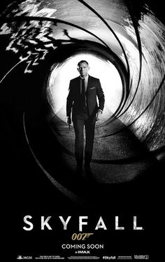 First poster of the new 007 movie is released.