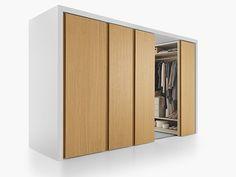 步入式衣柜 BINARIA | 衣柜 Binaria系列 by Fantin | 设计师Salvatore Indriolo