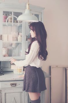 Wish my hair was like this... <3