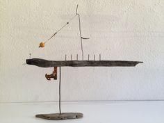 Art. Sculpture. Driftwood. Bois flotté. Madera. www.jordicomasmontseny.com