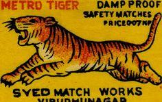 Tiger by Kollage Kid, via Flickr