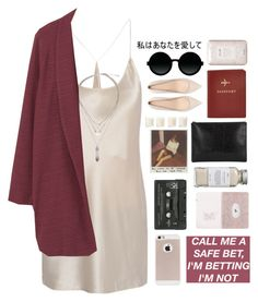 """""""Untitled #2177"""" by tacoxcat ❤ liked on Polyvore featuring T By Alexander Wang, Très Pure, Whistles, Shabby Chic, FOSSIL, Violeta by Mango, Zara, Fresh and Moscot"""