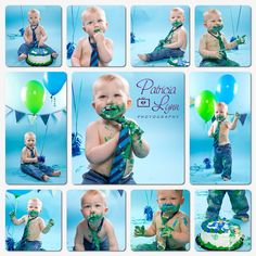 Patricia Lynn Photography; Cake Smash; First Birthday; Baby Portrait