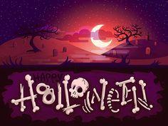 Halloween Bones w/ forgotten fog by Lindsey Kellis Meredith
