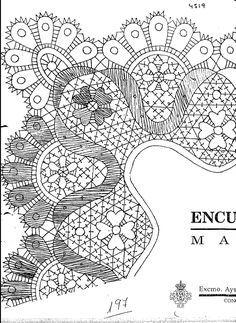 Archivo de álbumes Bobbin Lace, Symbols, Peace, Wave, Flower, Bobbin Lacemaking, Crocheting, Computer File, Trapillo