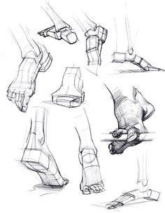 feet- Michael hampton