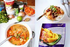 JosieLee: The Vietnamese Market - Red Curry Shrimp