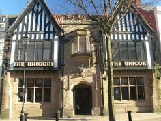 The Unicorn.  Worksop Nottinghamshire