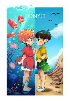 Totoro, Studio Ghibli Art, Studio Ghibli Movies, Hayao Miyazaki, Arte Copic, Personajes Studio Ghibli, Studio Ghibli Characters, Anime Films, Anime Shows