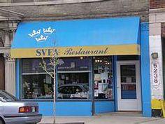 great swedish pancakes at SVEA restaurant in Chicago