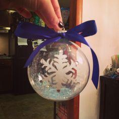 Snow ornament ❄