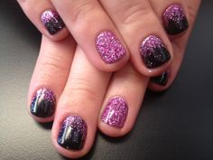 Fun with shellac and glitter