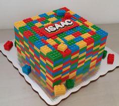 Bolo Lego: 50 Ideias de Decoração Incríveis para a Festa Bolo Lego, Lego Cake, Decorative Boxes, Home Decor, Simple Style, Decorating Ideas, Party, Cakes, Pastries