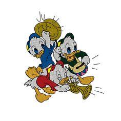 Donald Duck's Nephews Huey Dewey Louie Machine by TracenLines