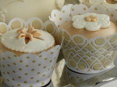 50th Wedding Anniversary cupcake ideas.