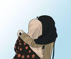 Me & my sissy😆 Best Friend Drawings, Girly Drawings, Girl Cartoon, Cartoon Art, Cover Wattpad, Hijab Drawing, Army Drawing, Tmblr Girl, Islamic Cartoon